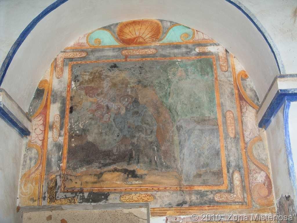 Fresco de San Francisco de Asis